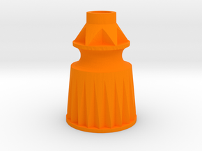 Playfield Star Post in Orange Processed Versatile Plastic