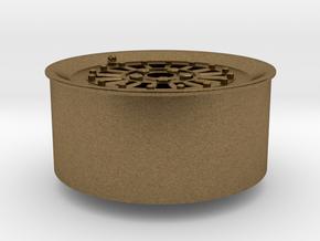 Car Rim for Model Scale 1/24 in Natural Bronze