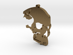 The Skull Rules in Natural Bronze