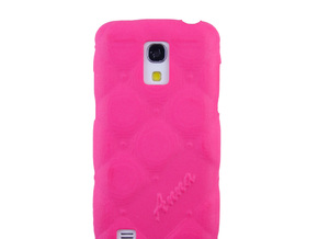 Samsung Galaxy S4 Mini Relief case in Pink Processed Versatile Plastic