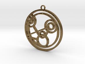 Monique - Necklace in Natural Bronze