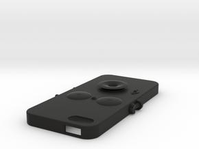 iPhone5 case(old type) in Black Natural Versatile Plastic