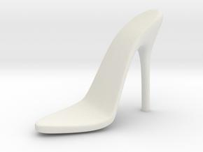 Women High Heel Base Right Shoe in White Natural Versatile Plastic