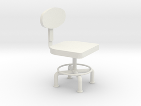 HTLA office chair 10% in White Natural Versatile Plastic