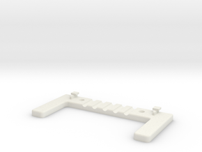 Wall Mount For ASUS Router - Vented in White Natural Versatile Plastic