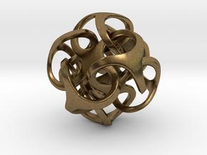 metatron 30mm in Raw Bronze