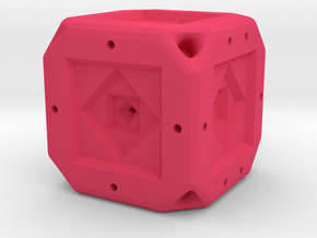 Dice83 in Pink Processed Versatile Plastic