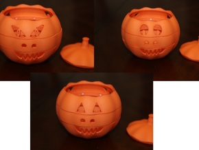 Dial-O-Lantern in Orange Strong & Flexible Polished
