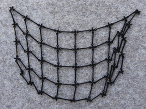 Simulation Mesh - No Diagonals in Black Strong & Flexible