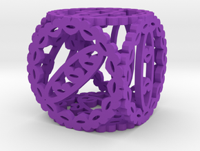 Dice85 in Purple Processed Versatile Plastic