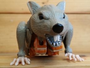 Rattrap's Really Ratlike Teeth in White Natural Versatile Plastic