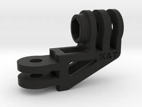 GoPro Compact 90 Degree Elbow Mount Long Version in Black Natural Versatile Plastic