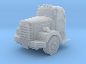 1:87 Diamond-T Fire Truck Cab in Frosted Ultra Detail