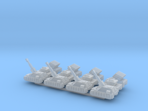 """Team Sabre"" 3mm Tracked Fire Support (12pcs) in Smooth Fine Detail Plastic"