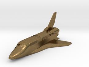 Space Shuttle spacecraft in Natural Bronze