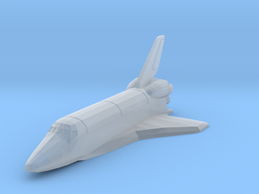 Space Shuttle spacecraft in Smooth Fine Detail Plastic
