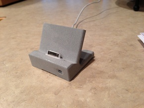 WaveGuide (an iPhone 4/ 4S Dock) in White Natural Versatile Plastic