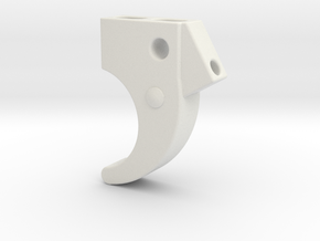 P40 Trigger in White Natural Versatile Plastic