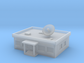 1/600 TV Station in Smooth Fine Detail Plastic