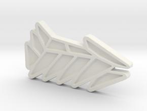 Ship #5 in White Natural Versatile Plastic
