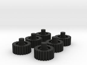 Kreon Nemesis Prime Wheels in Black Strong & Flexible