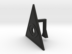 Eye of the Illuminati webcam blocker in Black Strong & Flexible