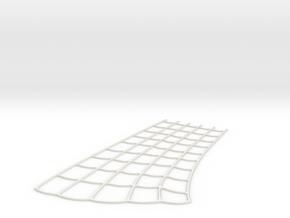 Spider-Man Leftt Arm-2 Webbing (fits kenlandrum pr in White Natural Versatile Plastic