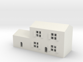 1/600 Town House 3 in White Natural Versatile Plastic