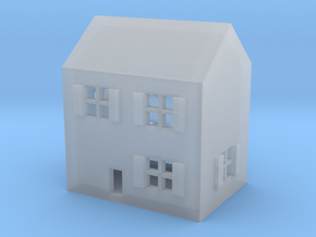 1/600 Town House 1 in Smooth Fine Detail Plastic