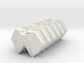 "Somtaaw ""Explorer"" Support Modules (3) in White Natural Versatile Plastic"