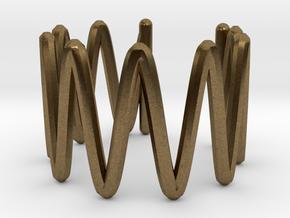 Ear Cuff in Natural Bronze