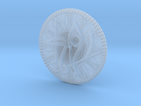 Game coin(Egypt) in Smooth Fine Detail Plastic