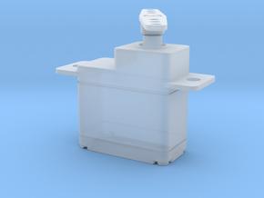 Servo Motor 1 in Smooth Fine Detail Plastic