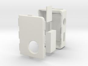 Box Mod MARK V Complete Kit  in White Natural Versatile Plastic