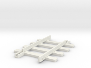 Big Big Train Track4bars in White Natural Versatile Plastic