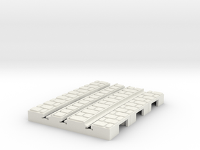P-9-165st-short-2r-curved-inside-1a in White Natural Versatile Plastic