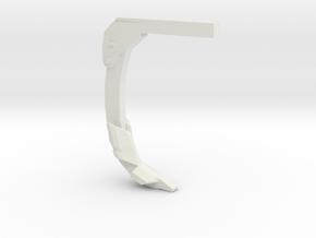 disc ripper tiger ripper shank 1/64 scale (s scale in White Natural Versatile Plastic