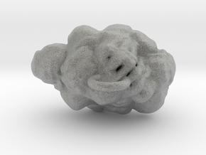 Cloud Earring in Metallic Plastic