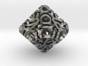 Ring d10 in Natural Silver
