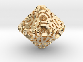 Ring d10 Decader in 14K Yellow Gold