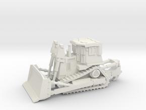 Armored Dozer Doobi 1/160 N Scale in White Natural Versatile Plastic