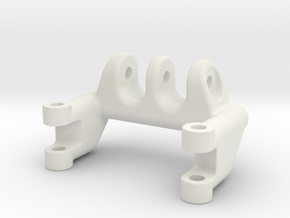 Axial SCX10 4-link holder for narrow axle in White Natural Versatile Plastic