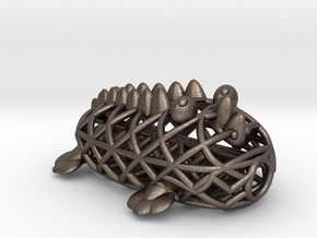 Croccky 2.0 in Polished Bronzed Silver Steel