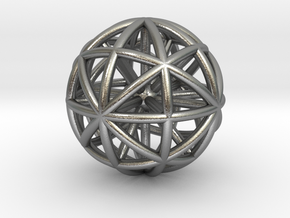 Spherical thing in Natural Silver