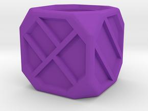 Dice89 in Purple Processed Versatile Plastic