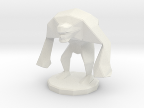 Enemy brute in White Natural Versatile Plastic