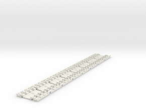 E-165-barrow-crossing-long-1a-x8 in White Natural Versatile Plastic