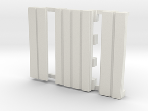 E-165-barrow-crossing-Y-curve-long-1a in White Natural Versatile Plastic