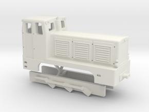 V10C-Gehäuse (H0, 1:87) in White Natural Versatile Plastic