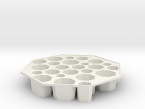 'Bogotá' Ice tray in White Natural Versatile Plastic